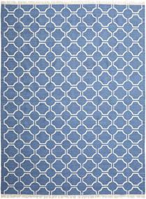 London - Blå/Off White Teppe 300X400 Ekte Moderne Håndvevd Blå/Beige Stort (Ull, India)