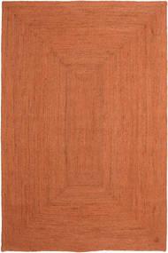 Utendørsteppe Frida Color - Oransje Teppe 200X300 Ekte Moderne Håndvevd Rød/Orange (Juteteppe India)