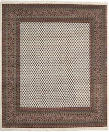 Mir Indisk Teppe 253X305 Ekte Orientalsk Håndknyttet Mørk Grå/Lys Grå Stort (Ull, India)