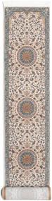 Negar Teppe 80X400 Orientalsk Teppeløpere Lys Grå/Beige ( Tyrkia)