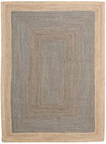 Frida Frame - Grå/Natural Teppe 160X230 Ekte Moderne Håndvevd Lys Grå/Beige ( India)