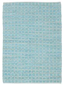 Elna - Bright_Blue Teppe 200X300 Ekte Moderne Håndvevd Lys Blå/Turkis Blå (Bomull, India)