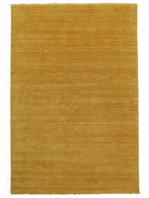 Handloom Fringes - Gul Teppe 200X300 Moderne Lysbrun/Gul (Ull, India)