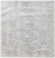 Maharani - Grå Teppe 150X150 Moderne Kvadratisk Lys Grå ( Tyrkia)