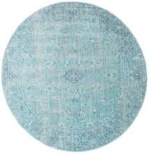 Maharani - Blå Teppe Ø 150 Moderne Rundt Lys Blå/Turkis Blå ( Tyrkia)