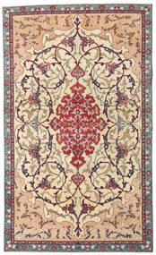 Najafabad Patina Teppe 140X236 Ekte Orientalsk Håndknyttet Beige/Mørk Brun (Ull, Persia/Iran)