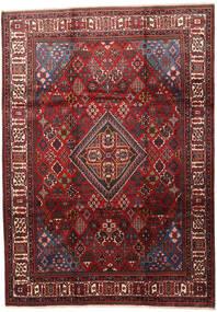 Joshaghan Teppe 235X330 Ekte Orientalsk Håndknyttet Mørk Rød/Mørk Brun (Ull, Persia/Iran)