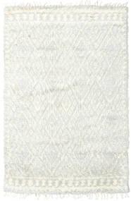 Barchi/Moroccan Berber - Indisk Teppe 156X241 Ekte Moderne Håndknyttet Beige/Hvit/Creme (Ull, India)