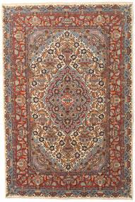 Kashmar Patina Teppe 195X290 Ekte Orientalsk Håndknyttet Mørk Brun/Mørk Grå (Ull, Persia/Iran)