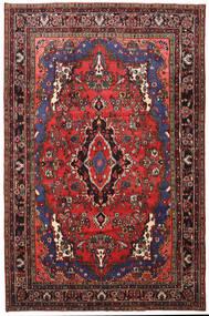 Mehraban Teppe 205X316 Ekte Orientalsk Håndknyttet Mørk Rød/Svart (Ull, Persia/Iran)