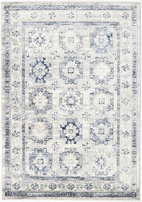 Menara Everyday - Grå/Blå Teppe 160X230 Moderne Lys Grå/Hvit/Creme ( Tyrkia)