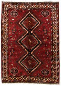 Ghashghai Teppe 158X225 Ekte Orientalsk Håndknyttet Mørk Rød/Rød (Ull, Persia/Iran)