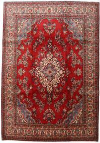 Mehraban Teppe 223X324 Ekte Orientalsk Håndknyttet Mørk Rød/Mørk Brun (Ull, Persia/Iran)