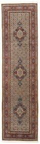 Moud Teppe 78X295 Ekte Orientalsk Håndknyttet Teppeløpere Mørk Brun/Mørk Rød (Ull/Silke, Persia/Iran)