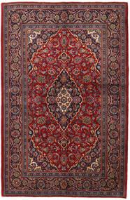 Keshan Teppe 143X215 Ekte Orientalsk Håndknyttet Mørk Rød/Mørk Brun (Ull, Persia/Iran)
