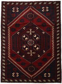 Lori Teppe 220X300 Ekte Orientalsk Håndknyttet Mørk Rød (Ull, Persia/Iran)