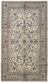 Keshan Teppe 145X253 Ekte Orientalsk Håndknyttet Mørk Grå/Lys Grå (Ull, Persia/Iran)