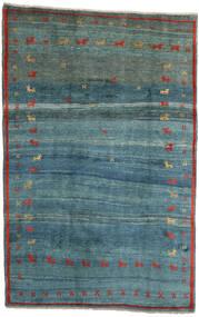 Gabbeh Rustic Teppe 184X284 Ekte Moderne Håndknyttet Turkis Blå/Blå (Ull, Persia/Iran)