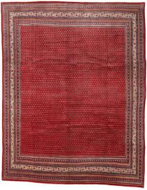 Sarough Mir Teppe 290X361 Ekte Orientalsk Håndknyttet Mørk Rød/Rød Stort (Ull, Persia/Iran)
