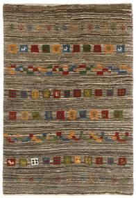 Gabbeh Persia Teppe 118X178 Ekte Moderne Håndknyttet Lys Grå/Mørk Brun (Ull, Persia/Iran)