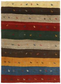 Gabbeh Persia Teppe 123X176 Ekte Moderne Håndknyttet Mørk Grønn/Rød (Ull, Persia/Iran)
