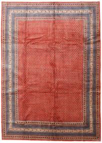 Sarough Mir Teppe 270X375 Ekte Orientalsk Håndknyttet Rust/Mørk Rød Stort (Ull, Persia/Iran)