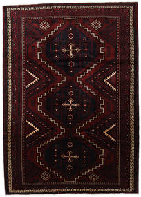 Lori Teppe 230X322 Ekte Orientalsk Håndknyttet Mørk Rød (Ull, Persia/Iran)
