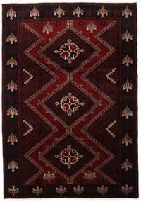 Lori Teppe 217X307 Ekte Orientalsk Håndknyttet Mørk Rød (Ull, Persia/Iran)