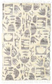 Barchi/Moroccan Berber - Indisk Teppe 160X230 Ekte Moderne Håndknyttet Beige/Lys Grå (Ull, India)