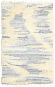 Barchi/Moroccan Berber - Indisk Teppe 160X230 Ekte Moderne Håndknyttet Hvit/Creme/Lys Grå/Beige (Ull, India)