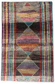 Moroccan Berber - Afghanistan Teppe 113X174 Ekte Moderne Håndknyttet Mørk Grå/Lys Grå (Ull, Afghanistan)