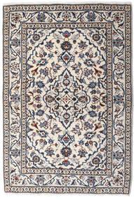 Keshan Teppe 99X146 Ekte Orientalsk Håndknyttet Lys Grå/Mørk Grå (Ull, Persia/Iran)