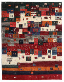 Gabbeh Persia Teppe 167X213 Ekte Moderne Håndknyttet Mørk Rød/Svart/Mørk Brun (Ull, Persia/Iran)