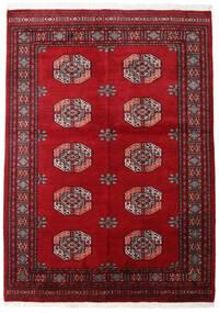 Pakistan Bokhara 3Ply Teppe 141X198 Ekte Orientalsk Håndknyttet Mørk Rød/Rød (Ull, Pakistan)
