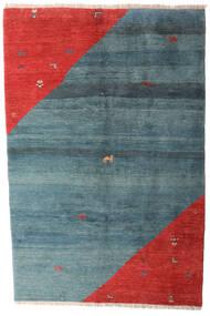 Gabbeh Rustic Teppe 203X305 Ekte Moderne Håndknyttet Blå/Rust (Ull, Persia/Iran)