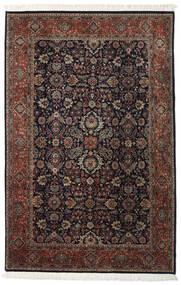 Keshan Indisk Teppe 202X310 Ekte Orientalsk Håndknyttet Mørk Rød/Mørk Brun (Ull, India)