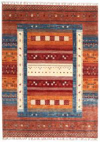 Moderne Afghan Teppe 173X240 Ekte Moderne Håndknyttet Rød/Beige (Ull, Afghanistan)
