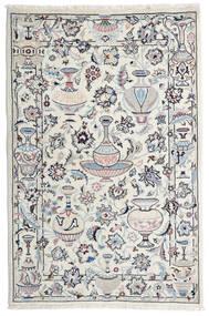 Kashmar Teppe 105X157 Ekte Orientalsk Håndknyttet Lys Grå/Beige (Ull, Persia/Iran)