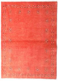 Loribaft Persia Teppe 102X144 Ekte Moderne Håndknyttet Rød/Rust/Lyserosa (Ull, Persia/Iran)