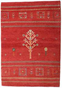 Loribaft Persia Teppe 102X144 Ekte Moderne Håndknyttet Rust/Mørk Rød (Ull, Persia/Iran)