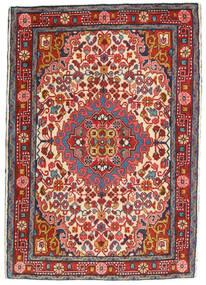 Hamadan Teppe 65X95 Ekte Orientalsk Håndknyttet Mørk Rød/Rust (Ull, Persia/Iran)