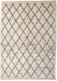 Moroccan Berber - Afghanistan Teppe 172X232 Ekte Moderne Håndknyttet Lys Grå/Beige (Ull, Afghanistan)