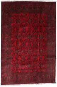 Afghan Khal Mohammadi Teppe 192X288 Ekte Orientalsk Håndknyttet Mørk Rød/Mørk Brun/Rød (Ull, Afghanistan)