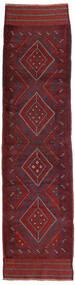 Kelim Golbarjasta Teppe 66X255 Ekte Orientalsk Håndvevd Teppeløpere Mørk Rød/Mørk Lilla (Ull, Afghanistan)