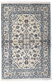 Keshan Teppe 100X150 Ekte Orientalsk Håndknyttet Lys Grå/Mørk Grå (Ull, Persia/Iran)