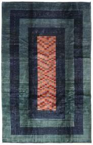 Gabbeh Kashkooli Teppe 201X310 Ekte Moderne Håndknyttet Mørk Blå (Ull, Persia/Iran)