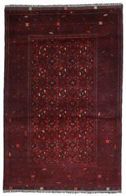 Kunduz Teppe 103X158 Ekte Orientalsk Håndknyttet Mørk Rød (Ull, Afghanistan)