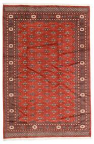 Pakistan Bokhara 2Ply Teppe 186X280 Ekte Orientalsk Håndknyttet Mørk Rød/Rust (Ull, Pakistan)