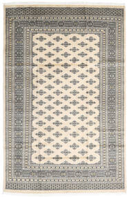 Pakistan Bokhara 2Ply Teppe 182X279 Ekte Orientalsk Håndknyttet Lys Grå/Beige (Ull, Pakistan)