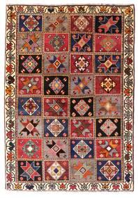 Ghashghai Teppe 136X197 Ekte Orientalsk Håndknyttet Mørk Rød/Mørk Brun (Ull, Persia/Iran)